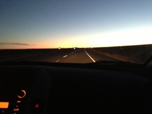 Traveling home from Mammoth on the 395.