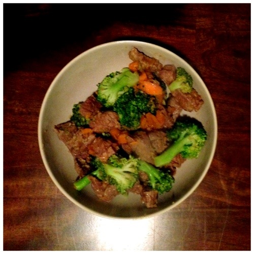 Beef & Broccoli - Paleo and Whole30 Approved
