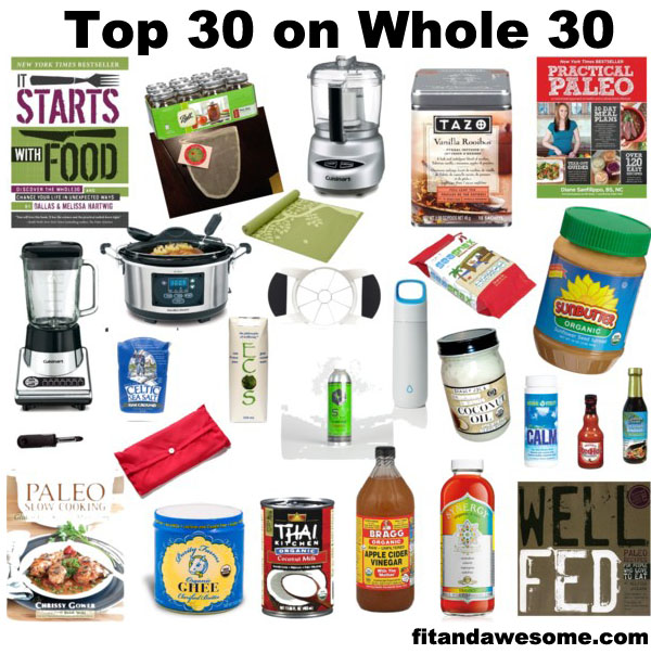 Top 30 Essentials on Whole 30.