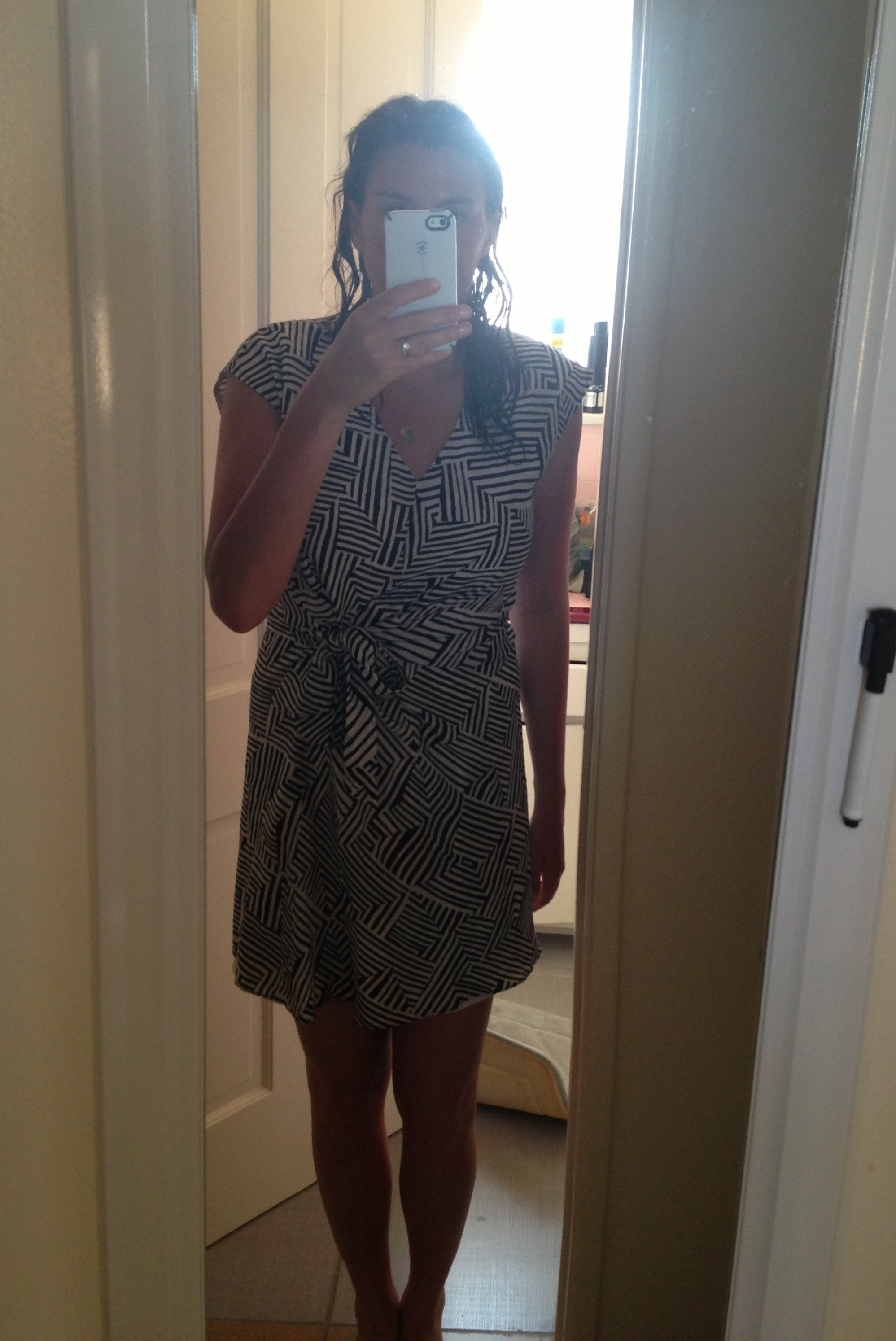 Stitchfix May Review Geoprinted Dress