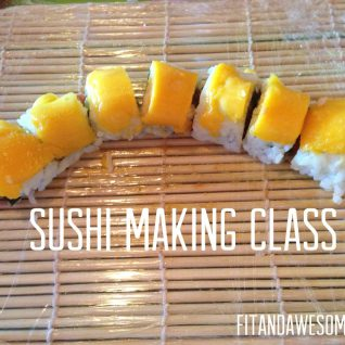 My First Sushi Making Class