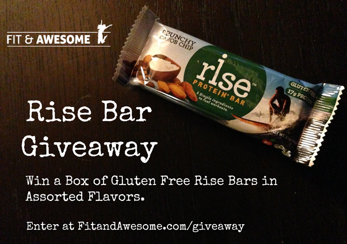 Rise Bar Giveaway