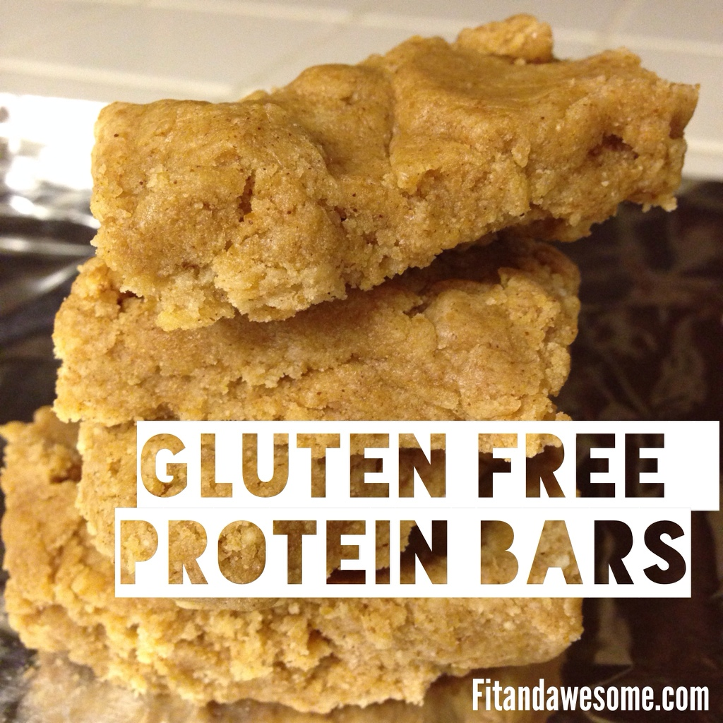 recipe gluten free homemade protein bars vanilla fit and awesome