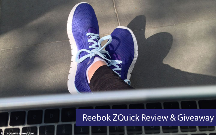 Reebok ZQuick Review & Giveaway
