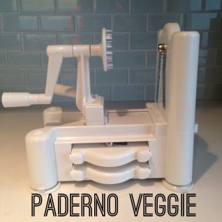 Paderno Vegetable Spiralizer Review