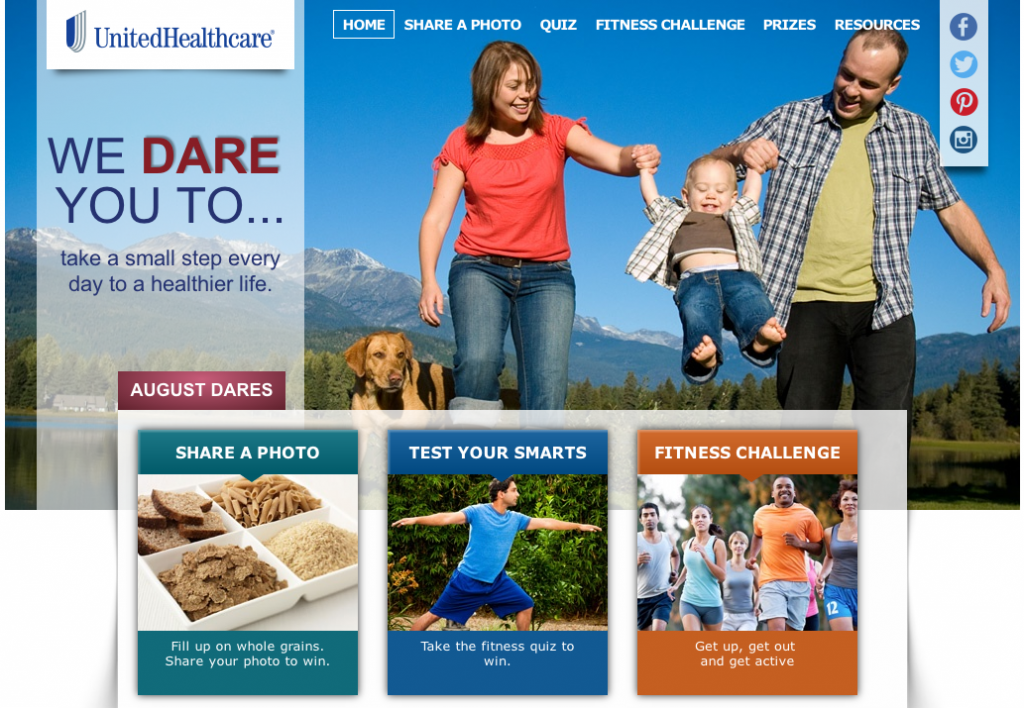 United Healthcare We Dare You To Share