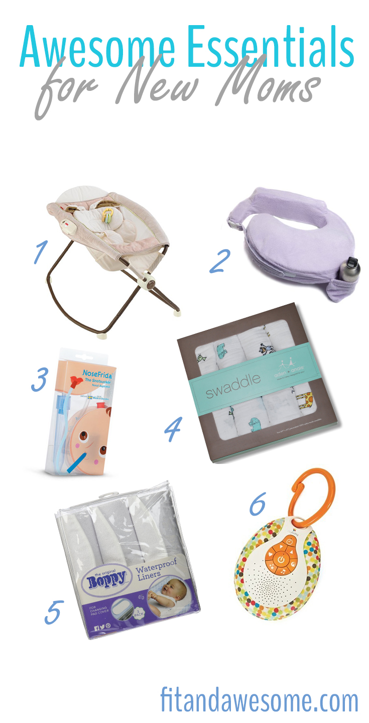 Essential Items for First Time Moms