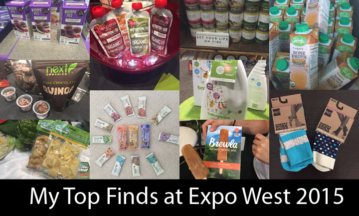 My Top Finds at Expo West 2015