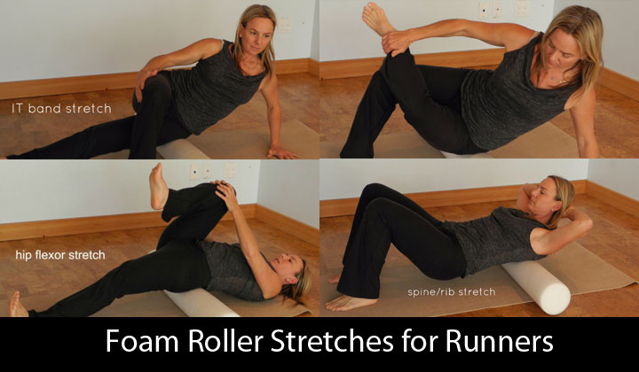 Foam Roller Stretches for Runners
