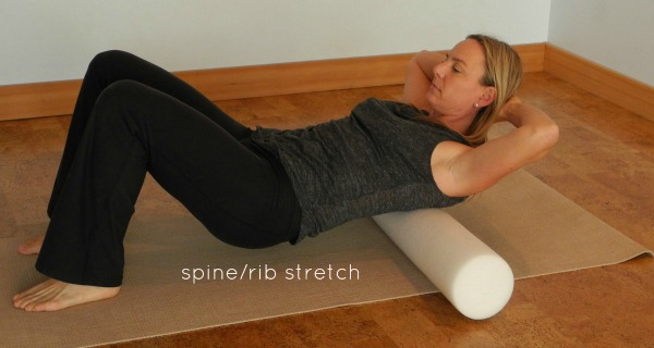 Spine Rib Foam Roller Stretch