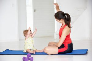 Working Up to a Workout: For the (New) Mom Bod