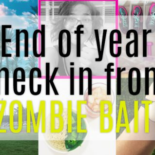 end of the year zombie bait