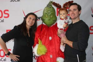 Baby Awesome's First Movie: How The Grinch Stole Christmas