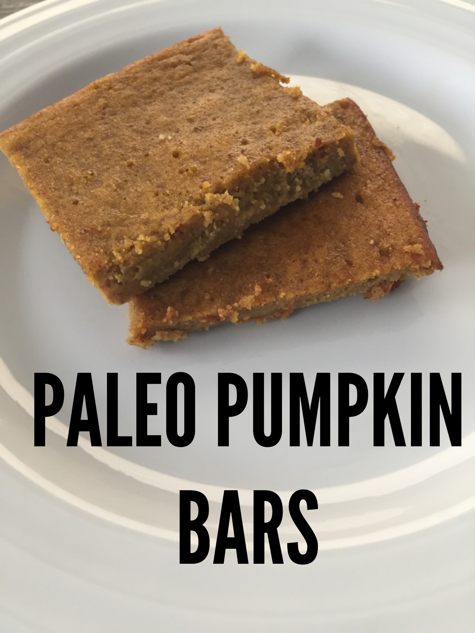 Paleo Pumpkin Bars Recipe - Fit and Awesome
