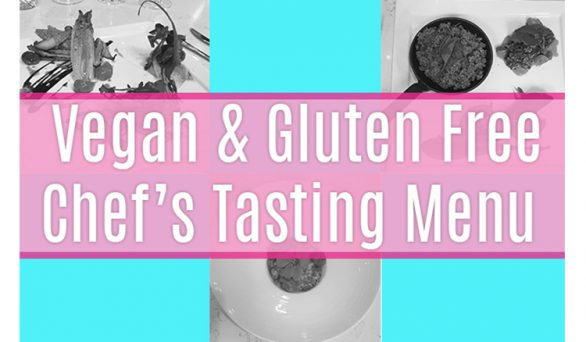 Vegan Gluten Free Chef's Tasting at Mix Lounge Anaheim