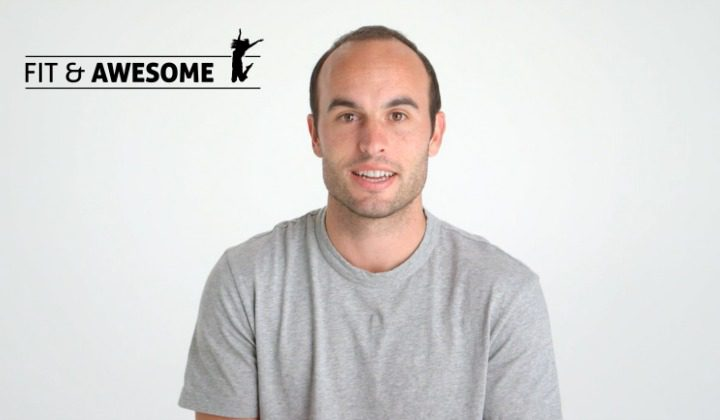 Landon Donovan Father's Day Interview with Fit & Awesome