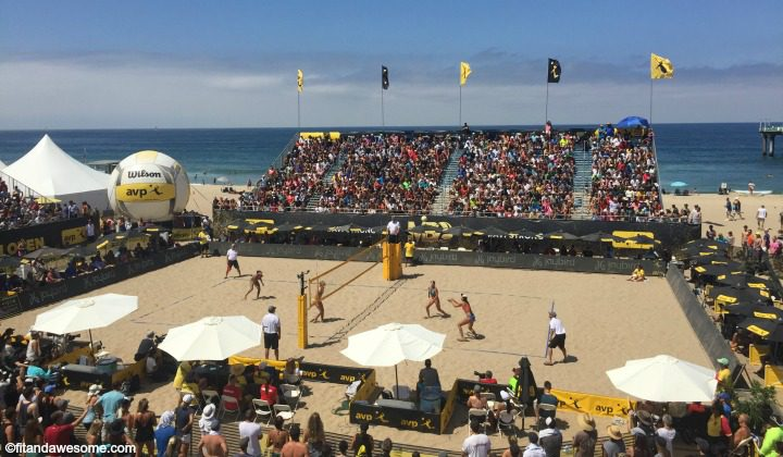 Family Fun at the Manhattan Beach AVP Open 2016
