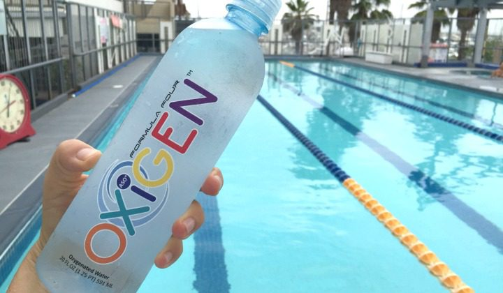 Working Out with Oxigen Water