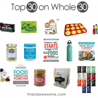top 30 whole 30 approved products