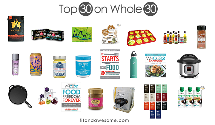 top 30 on whole 30 2017 version