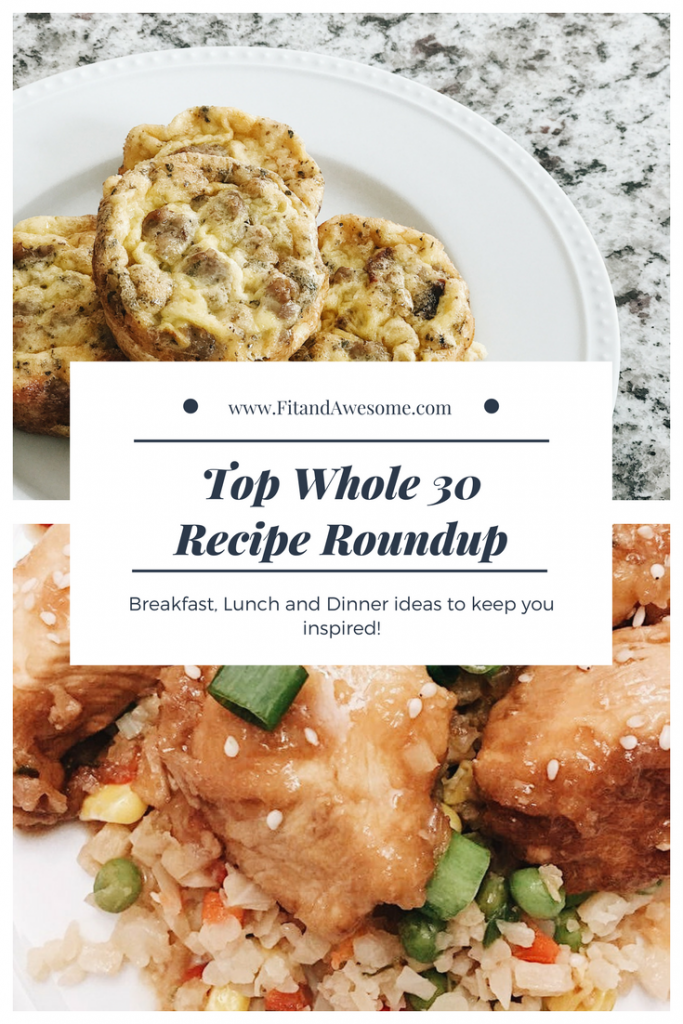 Top Whole30 Recipe Roundup