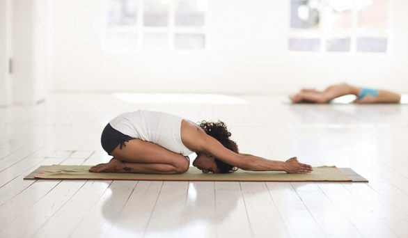 yoga as a fitness routine